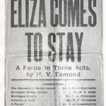 Eliza Comes to Stay (1923)